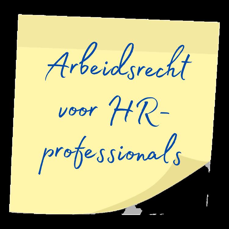arbeidsrecht voor HR-professionals